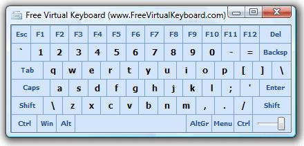 Software Keyboard Virtual Komputer