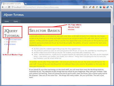 JQuery Selector Basics and understanding Tag Selector ...