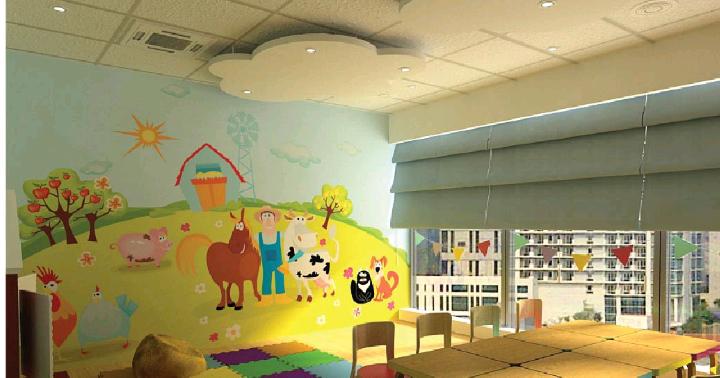 Lukisan dinding anak tk for Mural untuk kanak kanak