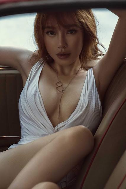 """Bị đưa vào danh sách photoshop, Elly Trần đáp trả """"thách thức"""" thế này"""