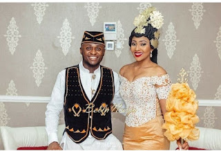 Ubi Franklin and Lilian Esoro marriage