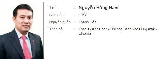 Ông Nguyễn Hồng Nam
