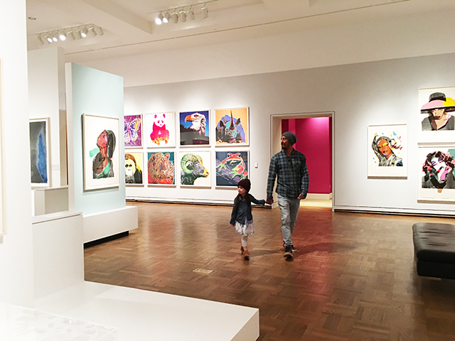 alisaburke: a day at the museum with andy warhol