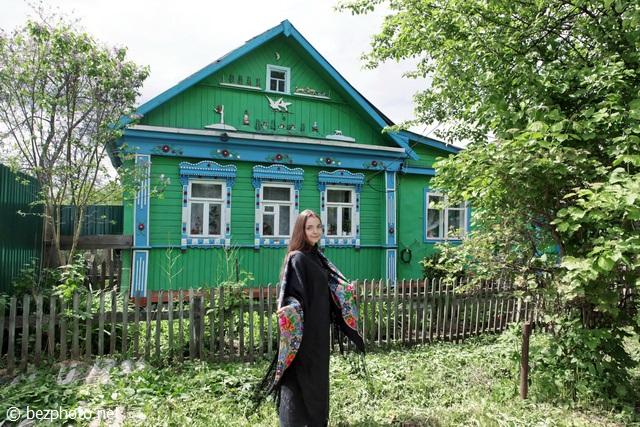 русский стиль фото