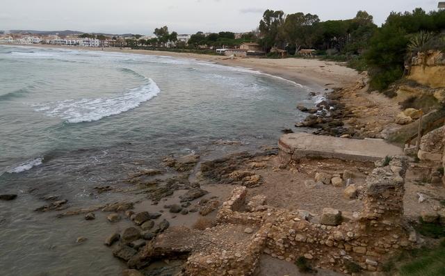Termes a peu de platja