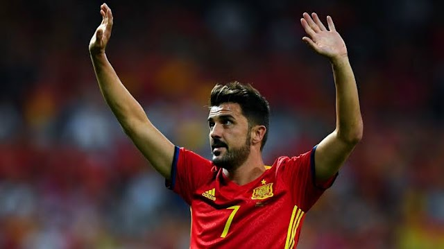 Spain's all-time top goalscorer David Villa Retires From Active Football