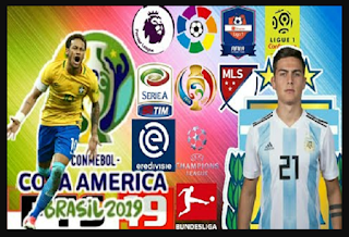 FTS 19 Mod Special Copa America 2019
