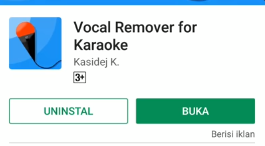 Cara Menghilangkan Suara Vokal di Lagu dengan Android