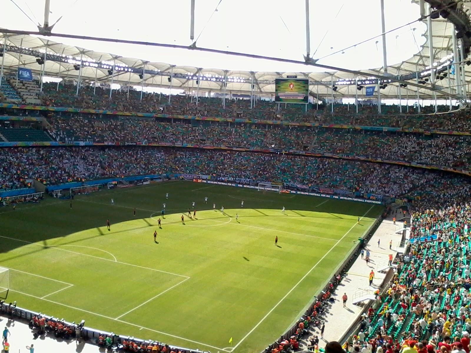 Arena Fonte Nova Salvador - Bahia - Copa do Mundo Brasil 2014