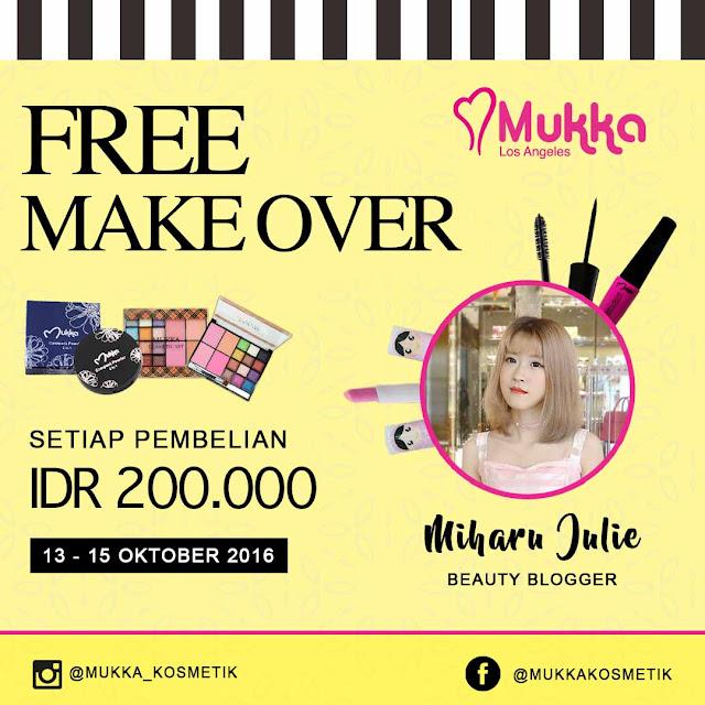 Mukka Kosmetik Giveaway