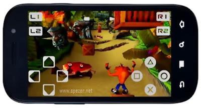 Cara Bermain Game PS1 di Android menggunakan Emulator FPse