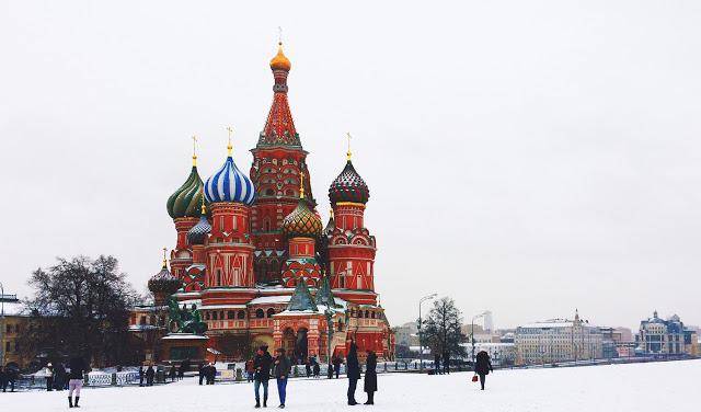 pontos turisticos russia