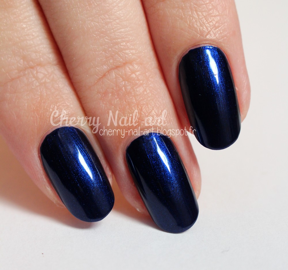 vernis monoprix monop' make-up n°63 Nuit nacrée