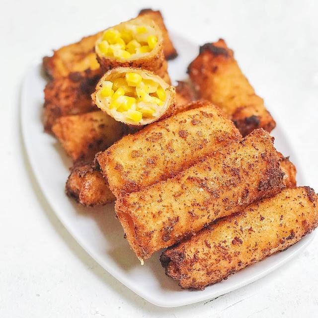 Resep Sajian Jagung Susu Keju Crispy