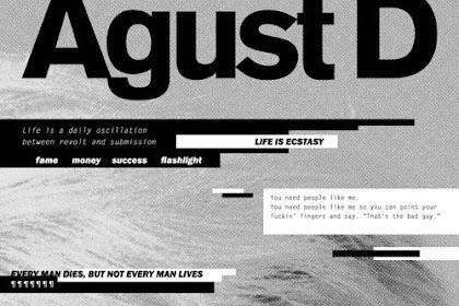 """Lirik Lagu Dan Terjemahan Eng/Indonesia """"AGUST D"""" - Suga (BTS) MIXTAPE"""