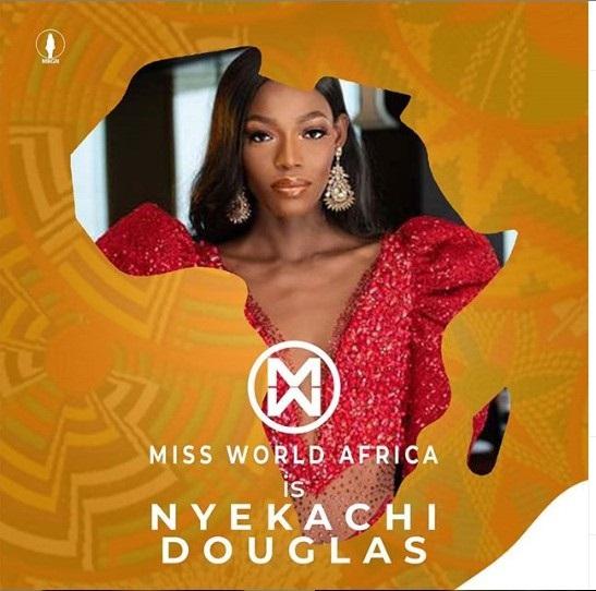 Miss Nigeria Emerges Miss World Africa 2019 (Photos)