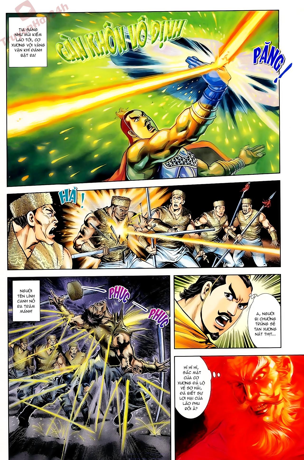 Cơ Phát Khai Chu Bản chapter 62 trang 3