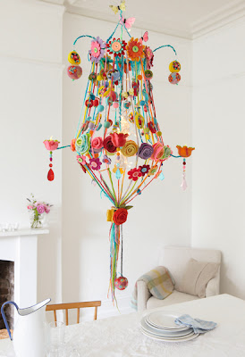 image felt chandelier gillian harris