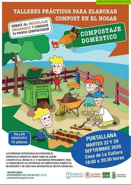 El Cabildo pone en marcha el programa de compostaje doméstico para promover su práctica en las familias
