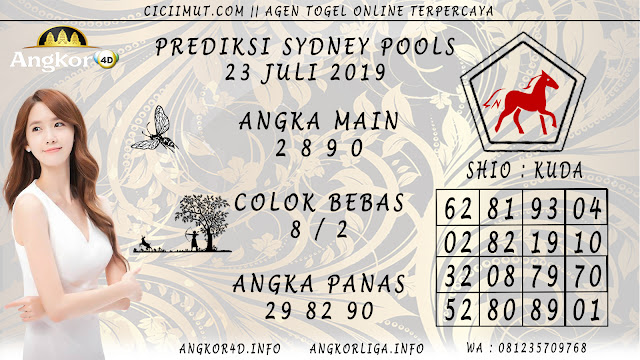 PREDIKSI SYDNEY POOLS 23 JULI 2019