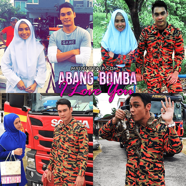 Abang Bomba I Love You