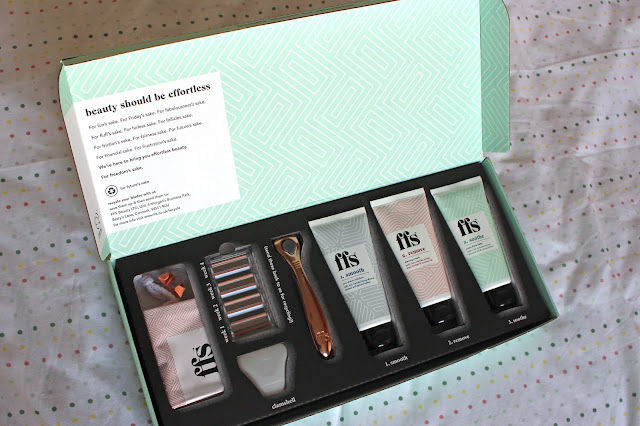 FFS women's razor subscription service 4