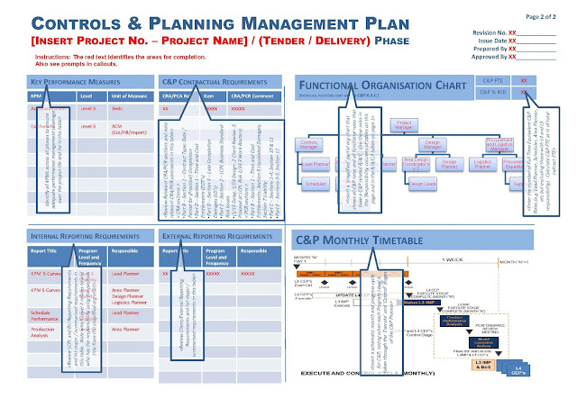 Controls and Planning Management Plan Template