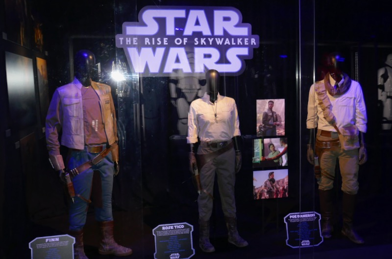 Star Wars Rise of Skywalker movie costumes