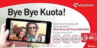 Smartfren, Paket Internet True Unlimited, 4G LTE Smartfren, Promo Paket,