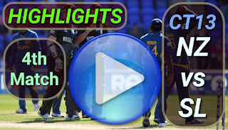 NZ vs SL 4th Match