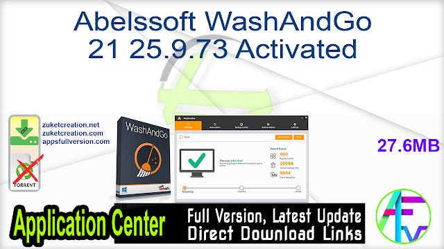 Abelssoft WashAndGo 21 25.9.73 Activated