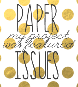 Fan-Feature-Friday at Paper Issues !