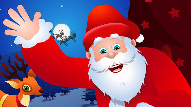 Cartoon santa clause images