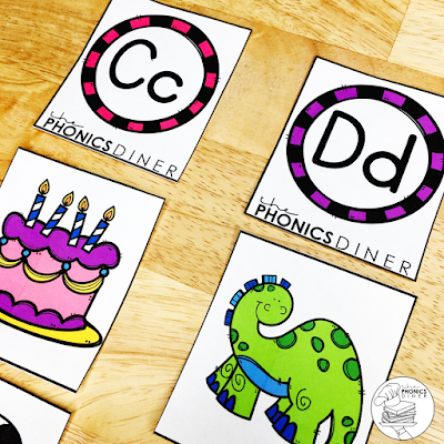 Phonological awareness in small group.