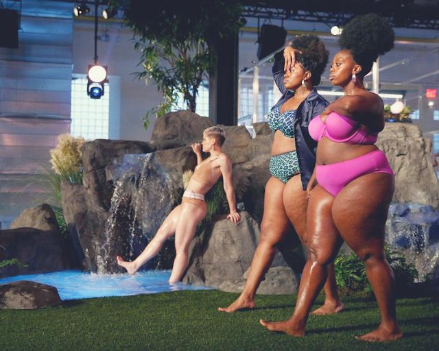 Mulheres reais nas passarelas da Semana de Moda de Nova York