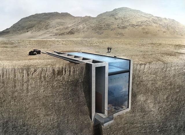 Skrivena kuća u stijeni, ovo niste vidjeli do sad.