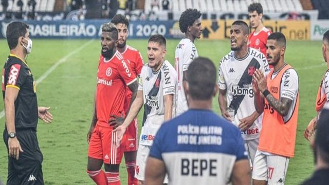 Vasco x Inter: STJD determina intimação urgente da CBF
