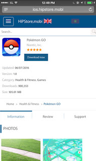 download pokemon go dari apple store