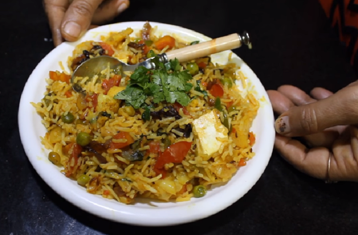 Best Ever Spiced Vegetable Biryani Recipe