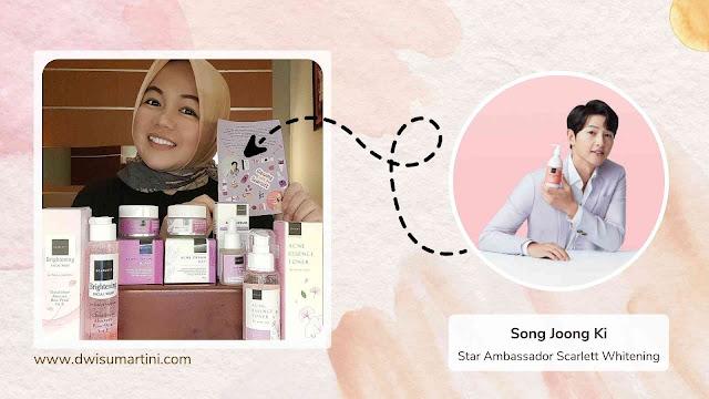 Song Joong Ki, Star Ambassador Scarlett Whitening