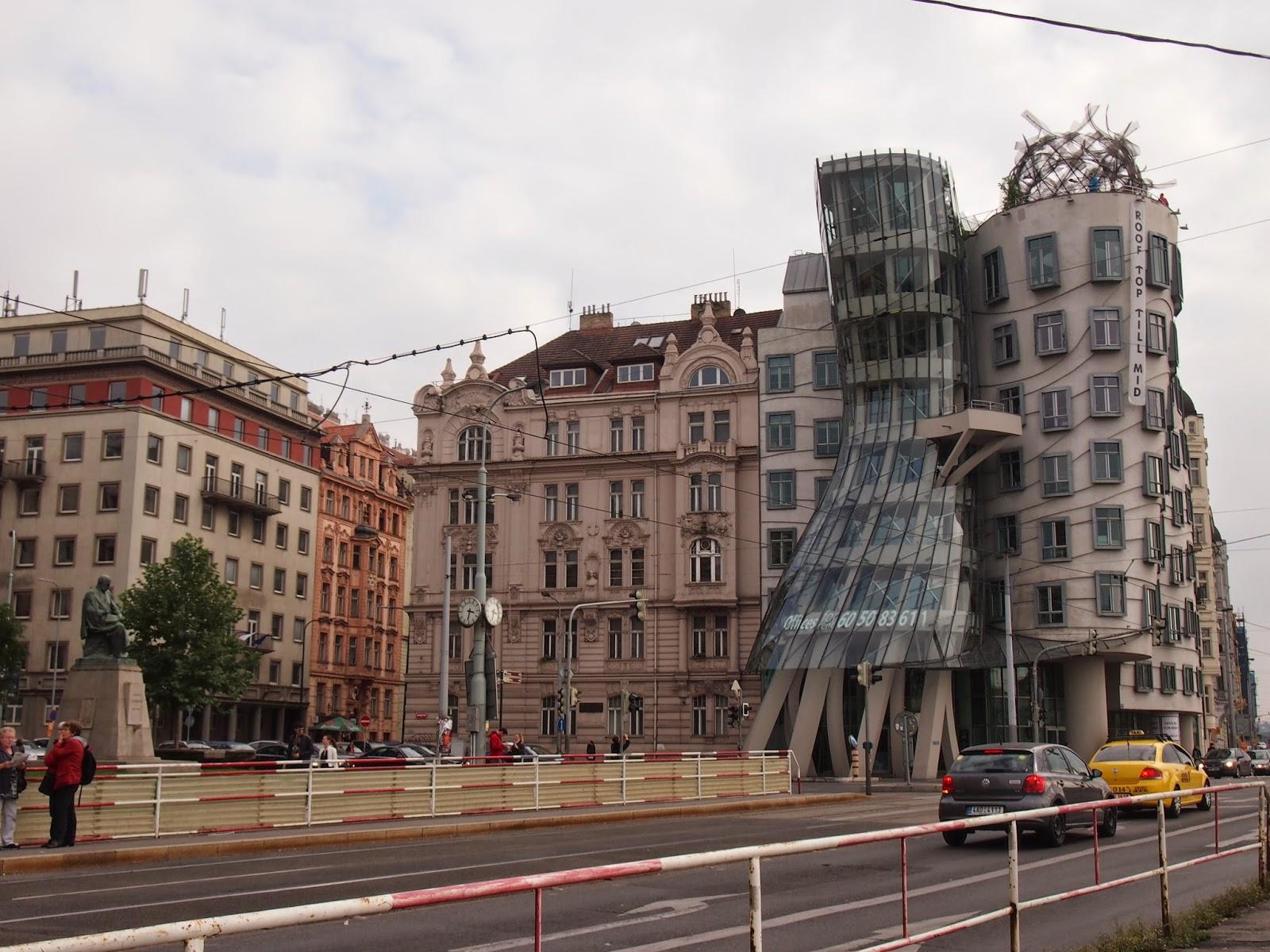 The Dancing Building