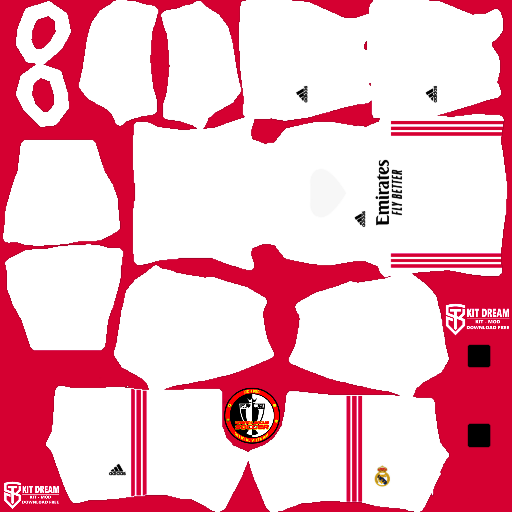 Kits Real Madrid 2021 - Dream League Soccer 2021