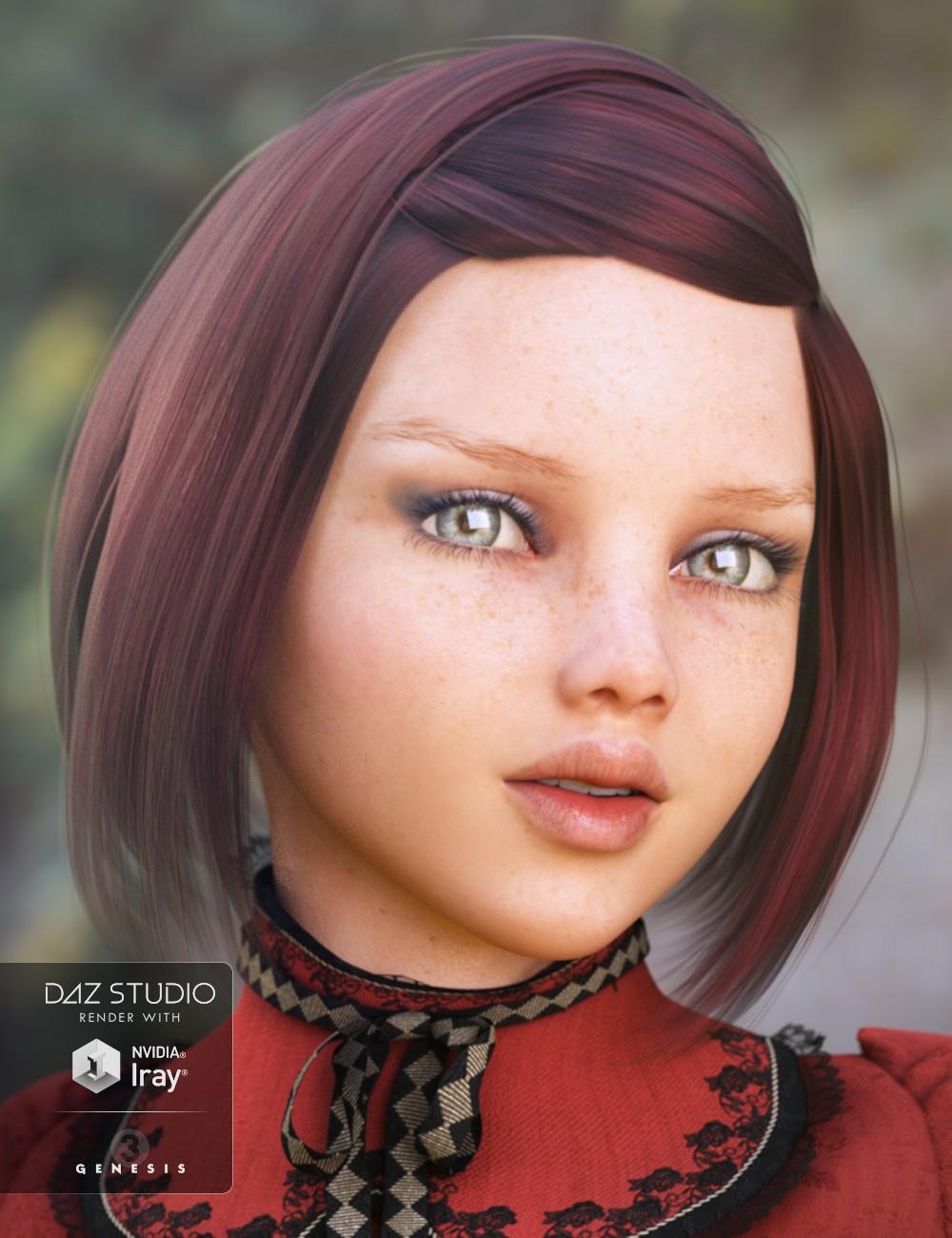 Download DAZ Studio 3 for FREE!: DAZ 3D - Tween Julie 7