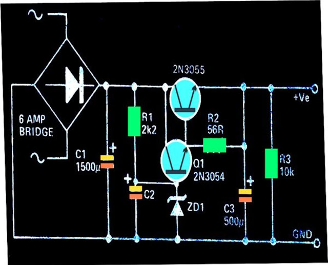 Regulated, High Current Power Supply