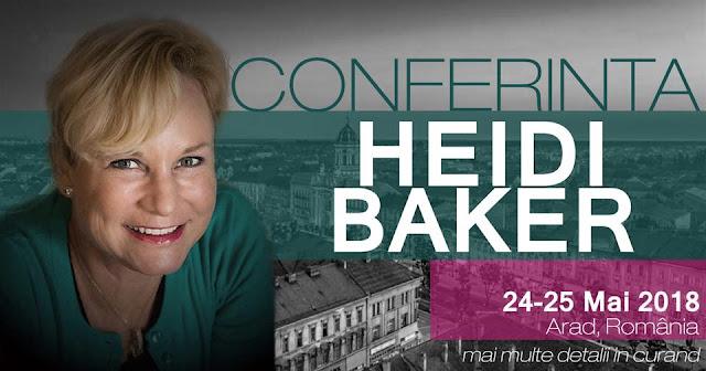 Conferinta cu Heidi Baker la Arad