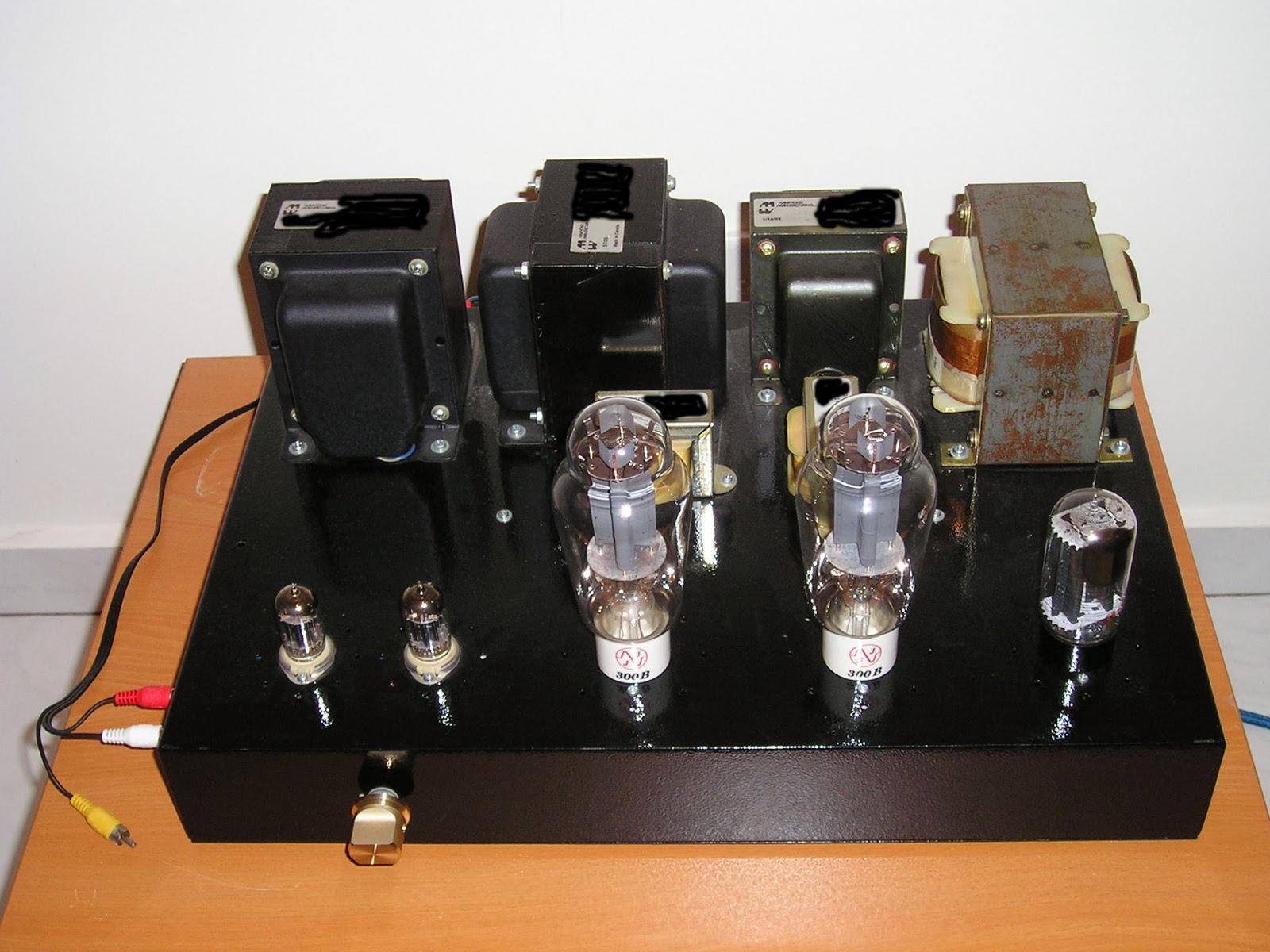 J&K Audio Design: 300B Tube Amplifier