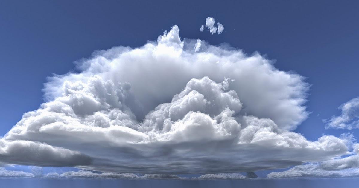 Awan Cumulonimbus  Pengertian Gambar Proses Terjadi