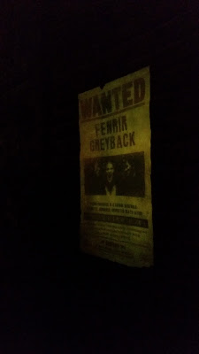 Fenrir Grayback wanted poster