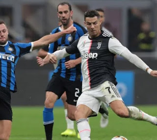 تأجيل مباراة يوفنتوس ضد انتر ميلان الايطالي بسبب بسبب فيروس كورونا