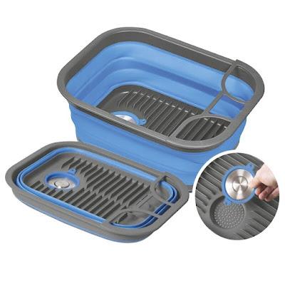 dish drainer camping